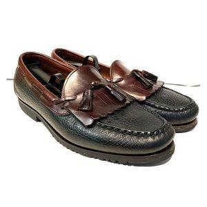 Allen Edmonds Shoes - Allen Edmonds All-Leather Slip-On Tassel Loafers